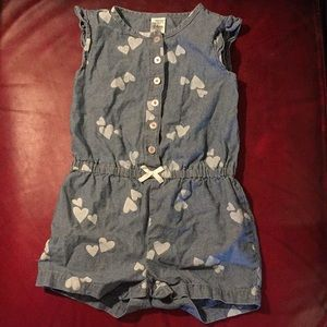 Carters romper baby girl 24months
